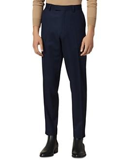 Sandro - Notch Flannel 120's Slim Fit Suit Pants
