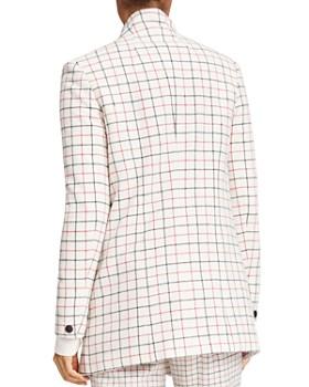 rag & bone - Nova Wool-Blend Windowpane Plaid Blazer