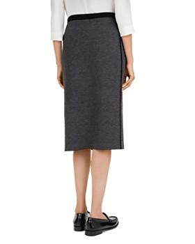 Gerard Darel - Herringbone Pencil Skirt