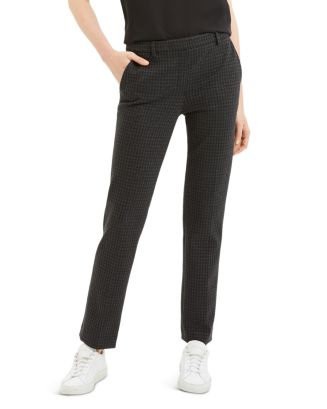 houndstooth-straight-leg-pants by theory