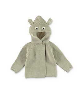 Stella McCartney - Unisex Hooded Animal Cardigan - Baby