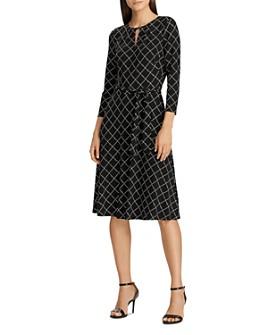 Ralph Lauren - Equestrienne-Print Jersey Dress