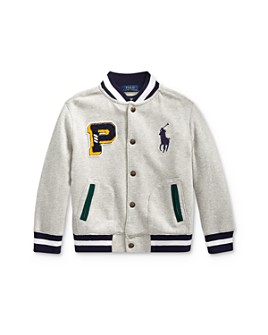 Ralph Lauren - Boys' Big Pony Baseball Jacket - Little Kid