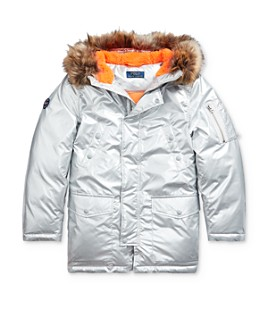 Ralph Lauren - Boys' Metallic Down Parka - Big Kid