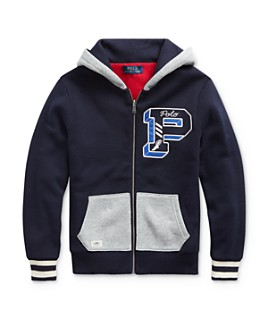 Ralph Lauren - Boys' Reversible Hoodie - Big Kid