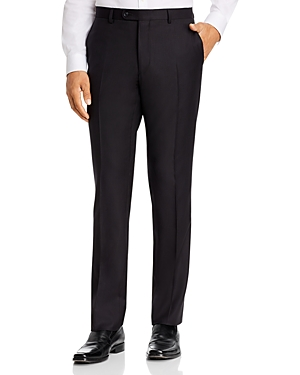 John Varvatos Star Usa Tonal Dotted Stripe Slim Fit Suit Pants