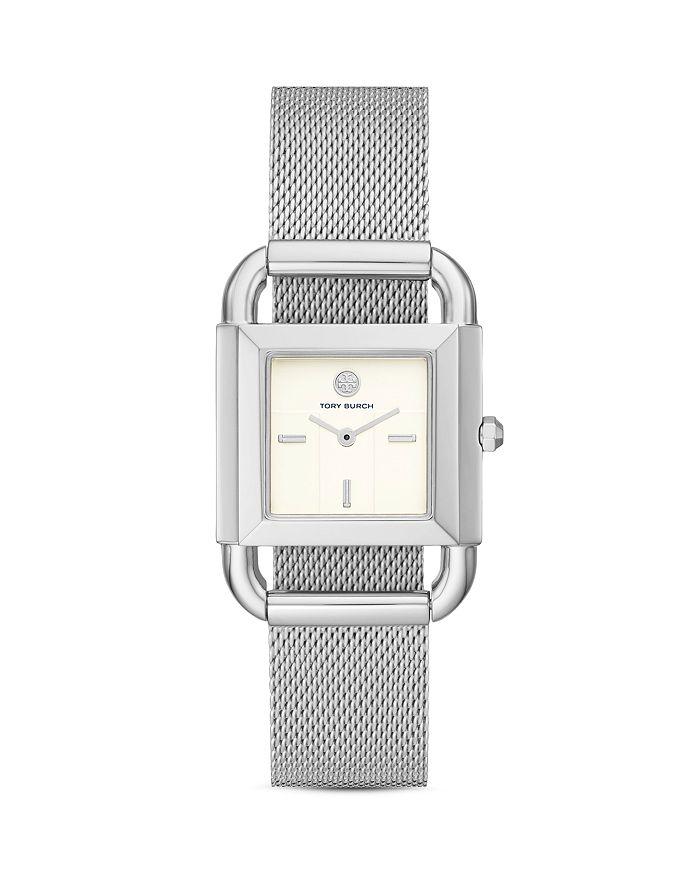 Tory Burch - Phipps Mesh Bracelet Watch, 28mm x 28mm