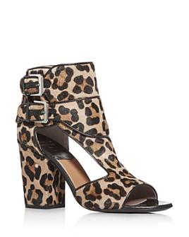 Laurence Dacade - Women's Leopard-Print Block Heel Sandals