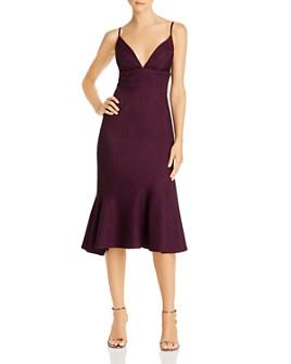 Avery G - Flounce Midi Dress