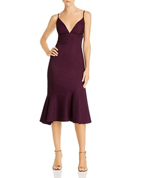 Avery G - Flounce Midi Dress