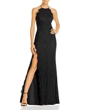 Fame and Partners - Dragon Eyes Lace Gown