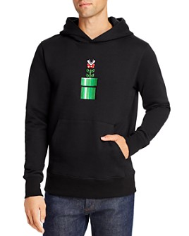 Bricktown - x Nintendo Piranha Plant Hooded Sweatshirt