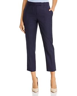 BOSS - Trisetella Check Print Wool Pants