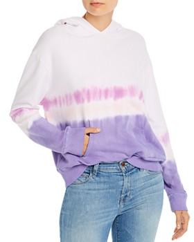 Monrow - Dip-Dye Hooded Sweatshirt