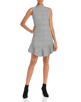 Alice and Olivia - Rapunzel Glen Plaid Dress