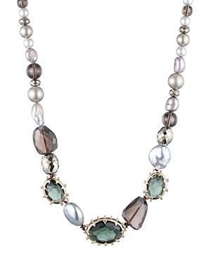 Alexis Bittar Modern Georgian Beaded Single Strand Necklace, 18