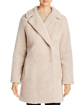 Maximilian Furs - Double-Breasted Shearling Coat - 100% Exclusive