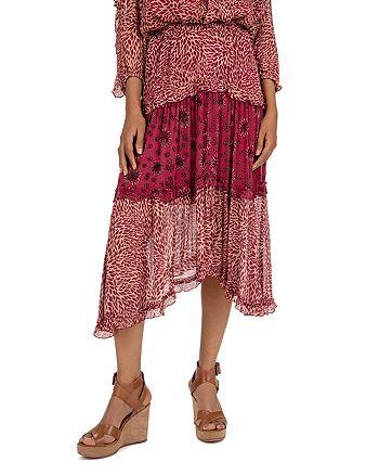 ba&sh - Gapi Asymmetric Midi Skirt