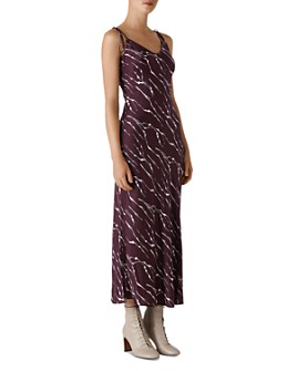 Whistles - Dagma Twig Print Slip Dress
