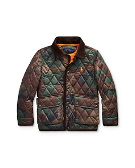 Ralph Lauren - Boys' Camo Quilted Coat - Little Kid