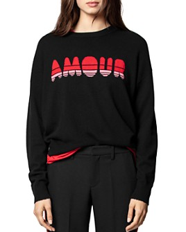 Zadig & Voltaire - Gaby Cashmere Amour Sweater