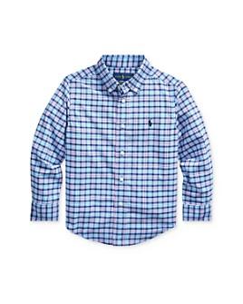Ralph Lauren - Boys' Plaid Performance Button-Down Shirt - Little Kid
