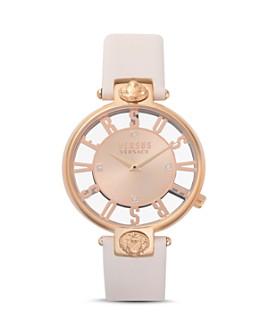 Versus Versace - Kristenhof Leather Strap Watch, 34mm