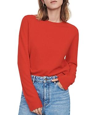 Maje Moana Cashmere Crewneck Sweater-Women