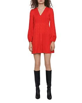 Maje - Rimine Jacquard Mini Dress
