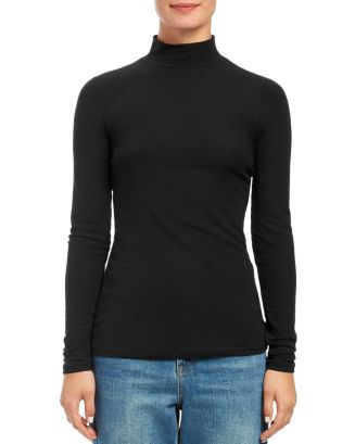 mock-neck-top by theory