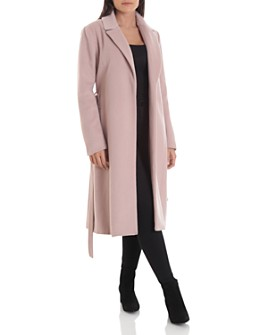 Badgley Mischka - Belted Wrap Coat