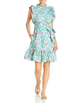 Banjanan - Bulbul Tulip & Bird Print Mini Dress