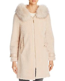 Maximilian Furs - Shearling & Fox Fur-Trim Hooded Jacket - 100% Exclusive