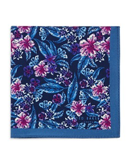 Ted Baker - Mixed Flower Pocket Square