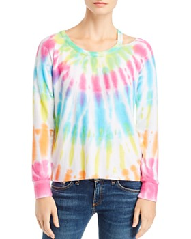 CHASER - Tie-Dye Cutout Tee