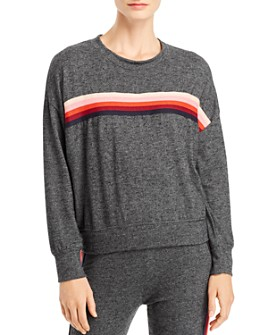 Sundry - Center-Stripe Sweatshirt