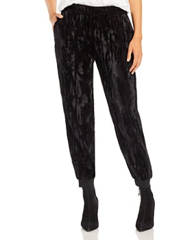 Alice and Olivia - Pete Velvet Slouchy Pants