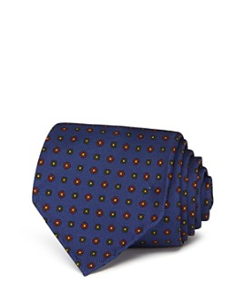 Drake's - Floral Medallion Silk Classic Tie
