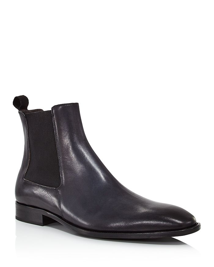 Dylan Gray Men's Ciccolino Leather Chelsea Boots - 100% Exclusive In Dark Gray