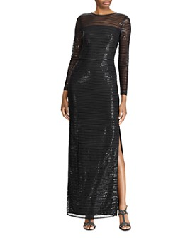 Ralph Lauren - Sequin Evening Gown