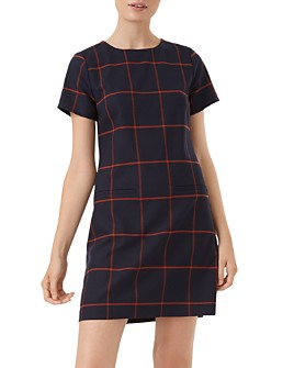 HOBBS LONDON - Riley Windowpane Shift Dress