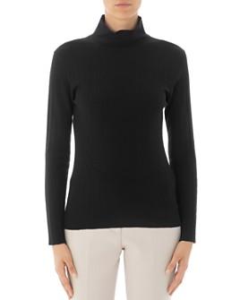 Peserico - Ribbed Long-Sleeve Virgin Wool Sweater