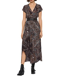 ALLSAINTS - Leila Paisley Maxi Dress