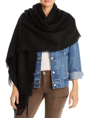 Solid Boucle Wrap   100 Percents Exclusive by Aqua