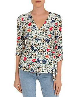 ba&sh - Paco Floral Wrap Top