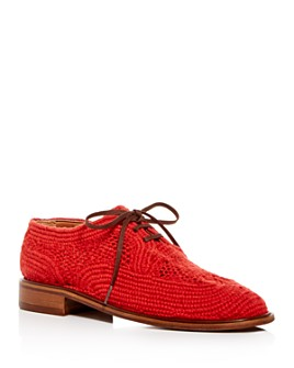Clergerie - Women's Joy Woven Oxfords