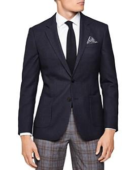 REISS - Vine Textured Slim Fit Blazer