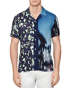 REISS - Obe Mixed Print Regular Fit Button-Down Shirt - 100% Exclusive
