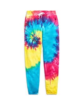 Ralph Lauren - Girls' Tie-Dyed Jogger Pants - Big Kid