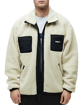 OBEY - Out There Regular Fit Sherpa Jacket
